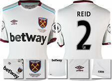 *16 / 17 - UMBRO ; WEST HAM UTD AWAY SHIRT SS + PATCHES / REID 2 = SIZE*