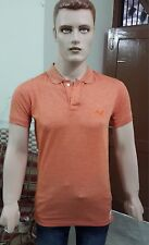 Pumá Solid Men's Polo Slim Fit T-shirt @ Lowest Price (Orange)