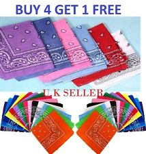 Katz 100% Cotton Paisley Bandana Head Wear Bands Scarf Neck Band Wrist Wrap*BND