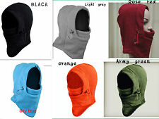 Unisex outdoor Winter Bicycle Face Mask Neck Warm Thermal Veil Windproof Hat