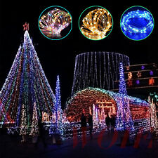 RGB LED String Light Wedding Party Fairy Xmas Copper Wire Lamp Indoor Outdoor UK
