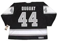 RON DUGUAY Los Angeles Kings 1988 CCM Vintage Away NHL Hockey Jersey