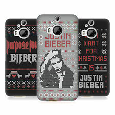 OFFICIAL JUSTIN BIEBER KNITTED CHRISTMAS HARD BACK CASE FOR HTC PHONES 2