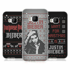 OFFICIAL JUSTIN BIEBER KNITTED CHRISTMAS SOFT GEL CASE FOR HTC PHONES 1
