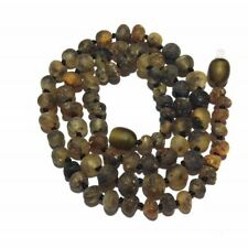 Adult Enchanted Raw Green Baltic Amber Necklace Love Amber X Uk Based Seller