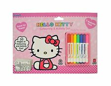 Hello Kitty ~ Sello Set/Para colorear & Actividad set/Mini Set Para Colorear