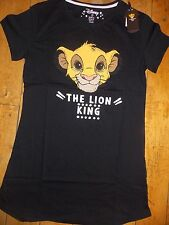 Ladies SIMBA The LION KING DISNEY Pyjama Nightshirt  Primark T shirt Nightdress