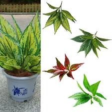 Large Artificial Leaves Foliage Flowers Tropical Fake Silk Craft Various Pattern