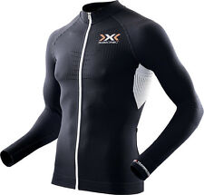 X-Bionic Men The Trick Bike Long Sleeve Full Zip Radshirt / O100090-B119