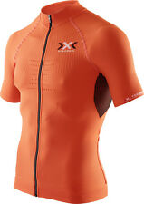 X-Bionic Men The Trick Bike Short Sleeve Full Zip Radshirt / O100044-O095
