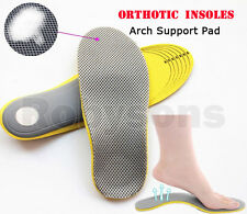 Comfortable Orthotic Shoes Insoles Inserts High Arch Support Pad Sport Comfort