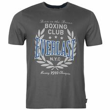 EVERLAST BOXERS T-SHIRT - CHARCOAL