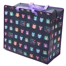 Laundry & Storage Bag with Funky Owl Design