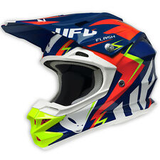 2017 UFO Interceptor 2 Motocross MX Enduro Helmet - Flash - Blue Red Yellow