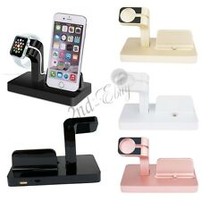 For Apple Watch iPhone iWatch Charging Dock Stand Bracket Accessories Holder Kit