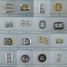 16 STYLES Metal Buckles with PIN For Belt Bag Handle Strapping Webbing Strap Etc