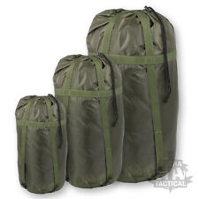 style militaire Deluxe Sac de couchage Compression Sac British Army vert olive