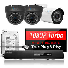 3x High Definition Realtime Camera Digital Office Recorder Complete AHD CCTV Kit
