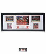 NEW Team The Treble signed storyboard Robbie Fowler
