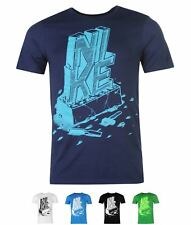 FASHION Nike Chiselled Just Do It QTT T Shirt Mens Blue