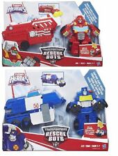 Transformers Rescue Bots Capture Claw Chase, Hook & Ladder Heatwave