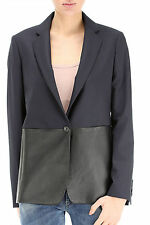 Paul Smith giacca pannelli pelle, leather panel jacket