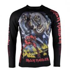 Tatami x Iron Maiden Number Of The Beast Kids BJJ Rash Guard Childrens Jitsu MMA