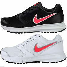 Nike Women's Downshifter 6 Active Running Casual Black White Sport Trainers