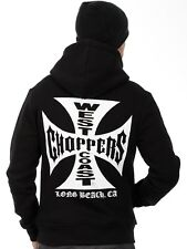West Coast Choppers Black Original Cross Hoody
