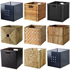 Ikea Boxes - Baskets Dimensioned To Fit EXPEDIT/KALLAX Shelving Unit