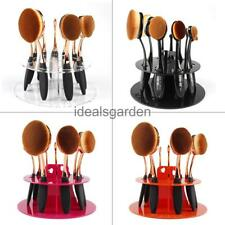 Makeup Brushes Holder Dryer Display Rack Organizer Pen Toothbrush Cosmetic Stand