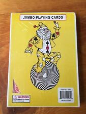"""7"""" x 5"""" Giant Jumbo Playing Card Deck Standard Size - Red Back"""