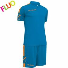 KIT PLAY GIVOVA CALCIO DIVISA FOOTBALL COMPLETO SPORT MAGLIA PANTALONCINO NEW