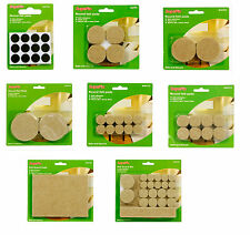 Supafix Felt Guard Self Adhesive Felt Furniture Pads Protects Hard Floors