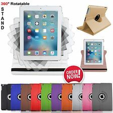 Leather 360° Rotating Smart Stand Case Cover For APPLE iPad Air 4 3 2 mini