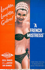 A French Mistress - 1960 - Movie Poster