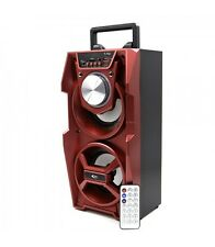 Altavoz Bafle Reproductor Bluetooth de MP3 con Karaoke y Luces LED MOD:ELET732