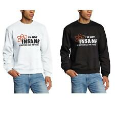 Pullover I'M NOT INSANE The Big Bang Theory Oberteil Herren Sweatshirt Shirt