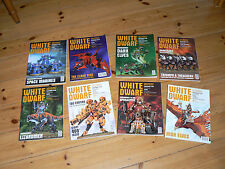 White Dwarf Magazines selection from 2013