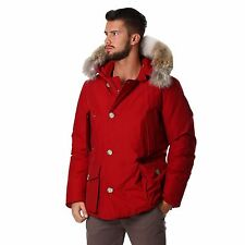 WOOLRICH ARCTIC ANORAK PARKA NUOVO JACKET WOCPS2211CN02 ROSSO 649 € TG S  2017