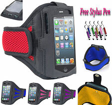Sports Gym Running Jogging Armband Case Cover Holder Fits For Apple iPhone 5 UK