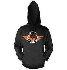 STAR WARS RESISTANCE E7 felpa cappuccio hooded sweat-shirt official license