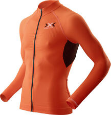 X-Bionic Men The Trick Bike Manica Lunga Full Zip Radshirt / O100090-O095