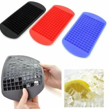 Ice Cube Tray - Flexible Silicone Create 160 Cavities Mini Square Ice Cube Mold