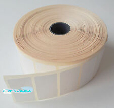 Thermal Direct White Sticky Labels 50X25mm 2X1inch Zebra &More Qty 3000