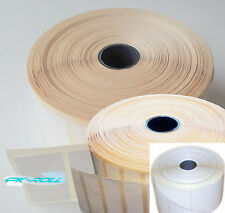 Thermal Direct White Sticky Labels 50X25mm 50x12mm 57x58mm  Zebra and More