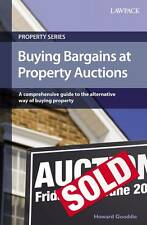 Buying Bargains at Property Auctions by Howard Gooddie Paperback Book