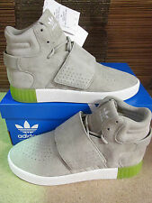 Adidas Originals Tubular Invader Strap Hi Top Trainers BB5040 Sneakers Shoes