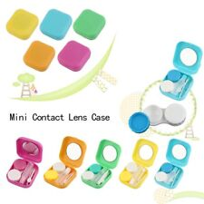 Plastic Mini Contact Lens Case Outdoor Travel Contact Lens Holder Container AL