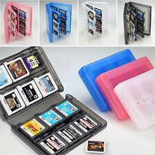 For 3DS DSi DSXL NDS Lit 28-in-1 Game Card Case Holder Cartridge Box Storage